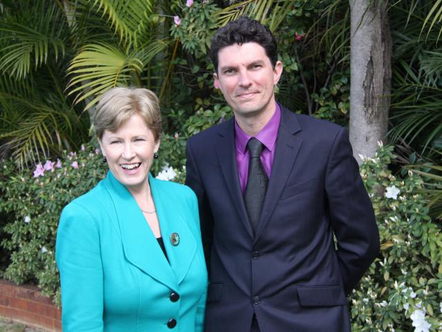 Christine Milne and Scott Ludlam